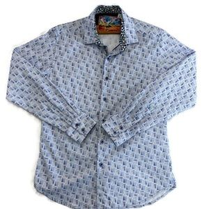 Robert Graham Men's Long Sleeve Button Down Shirt